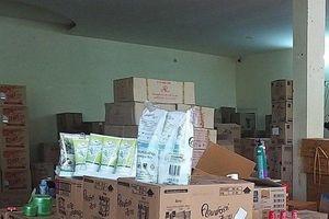 Phát hiện kho hàng chứa 1.240 mỹ phẩm ngoại nhập lậu