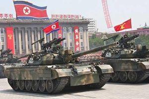 Triều Tiên có 4.300 xe tăng sẵn sàng tung vào chiến tranh