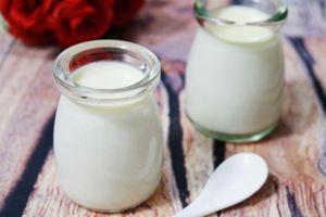 Da trắng mịn màng bằng cách sử dụng sữa chua