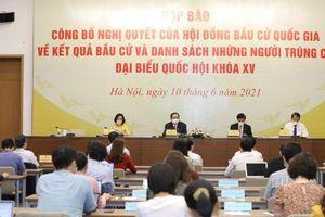 Có 6 người trúng cử đại biểu Quốc hội khóa XV tại tỉnh Quảng Trị