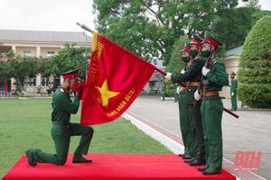 Trung đoàn 762 tổ chức tuyên thệ cho chiến sỹ mới năm 2021