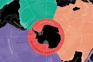 Thế giới có đại dương 5 mang tên Nam Đại Dương
