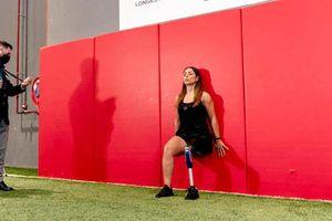 Nữ khuyết tật Lebanon lập kỷ lục guinness thế giới