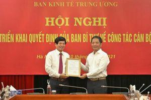 Ban Kinh tế Trung ương bổ nhiệm thêm 1 Phó Trưởng ban