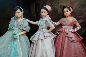 Dàn mẫu nhí hóa công chúa bước ra từ truyện cổ tích