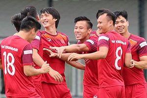 Huấn luyện viên Park Hang-seo chốt danh sách 23 cầu thủ cho trận gặp Malaysia