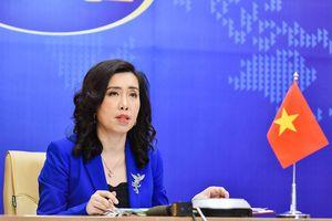 Yêu cầu Đài Loan hủy bỏ hoạt động diễn tập trái phép ở đảo Ba Bình, thuộc quần đảo Trường Sa của Việt Nam