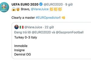 Xuất hiện thánh dự đoán, tiên tri chính xác từng chi tiết trận khai mạc Euro 2020
