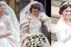 Những chiếc váy cưới hoàng gia đắt nhất lịch sử hiện đại, Megan và Kate váy ai đắt hơn?