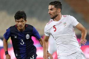 Campuchia thua 0-10 ở vòng loại World Cup