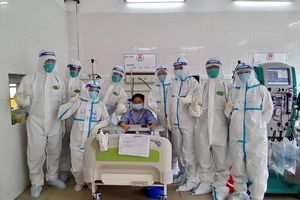 Ca thở máy đầu tiên tại Trung tâm hồi sức tích cực Bắc Giang đã có tín hiệu lạc quan