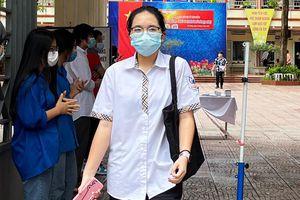 Hà Đông: Hơn 6.000 thí sinh tham dự kỳ thi lớp 10, công tác phòng chống dịch được siết chặt