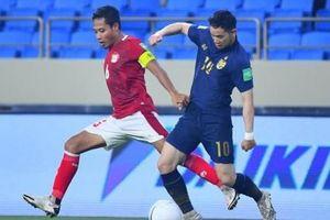 Thái Lan chính thức bị loại khỏi Vòng loại World Cup 2022