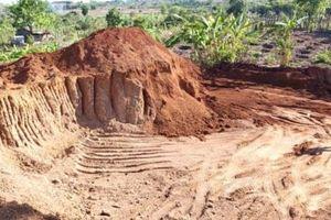 'Trộm' 1.100 m3 đất để làm đường, doanh nghiệp bị phạt 146 triệu đồng