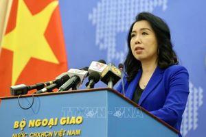 Yêu cầu Đài Loan (Trung Quốc) hủy bỏ diễn tập trái phép ở quần đảo Trường Sa của Việt Nam