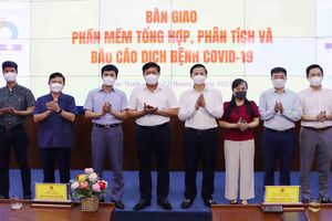 Bắc Ninh tiếp nhận phần mềm tổng hợp theo dõi dịch Covid-19