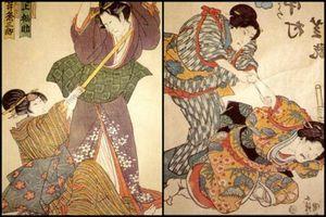 Nữ ninja huyền thoại Nhật Bản ám sát mục tiêu chỉ với 1 kẹp tóc