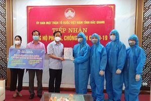 Trường ĐH Mở Hà Nội hỗ trợ Bắc Giang phòng, chống dịch Covid-19