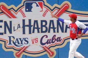 Ngoại giao bóng chày tái xuất trong quan hệ Mỹ-Cuba