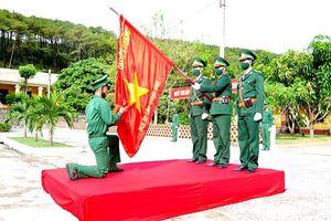 BĐBP các tỉnh tổ chức Lễ tuyên thệ chiến sĩ mới năm 2021