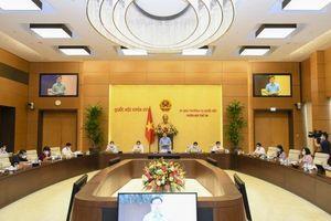UBTVQH chuẩn bị cho ý kiến về dự kiến Chương trình xây dựng luật, pháp lệnh năm 2022