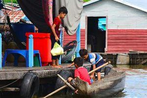 Phnom Penh tiến hành giải tỏa vài trăm nhà thuyền của người gốc Việt