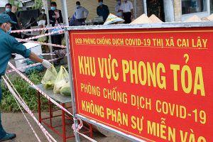Người bán thịt heo nghi mắc Covid-19, Tiền Giang phong tỏa chợ Ba Dừa