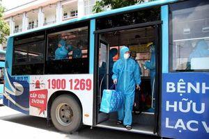 Tỉnh Vĩnh Phúc đón người lao động từ vùng dịch Bắc Giang trở về