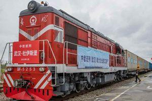 COVID-19 biến 'con đường tơ lụa sắt' thành huyết mạch giao thương Trung Quốc-châu Âu