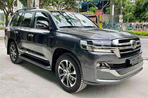 Ngắm Toyota Land Cruiser VSX Executive Lounge 2021 giá 6,6 tỷ đồng tại Việt Nam