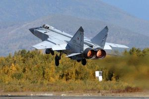 Máy bay chiến đấu MiG-31 trang bị thêm tên lửa P-74M