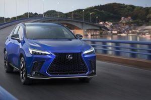 Lexus NX thế hệ mới ra mắt thế giới