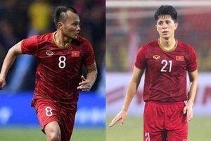 Tuyển Việt Nam chốt danh sách chính thức cho trận đấu với Malaysia, Trọng Hoàng và Đình Trọng trở lại