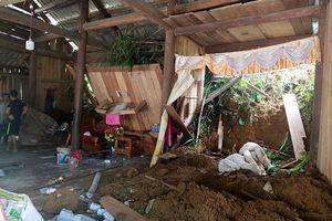 Sạt lở đất vùi lấp, làm chết một phụ nữ ở Lào Cai