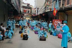Hỗ trợ đón người lao động Thanh Hóa đang lưu trú tại tỉnh Bắc Giang có nguyện vọng về Thanh Hóa do ảnh hưởng của dịch bệnh COVID-19