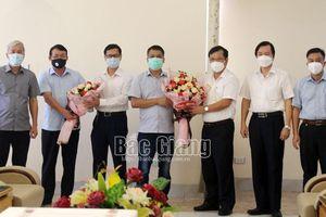 Bắc Giang: Chia tay đoàn cán bộ y tế TP Hà Nội hoàn thành nhiệm vụ hỗ trợ chống dịch