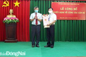 Bổ nhiệm Giám đốc Khu bảo tồn thiên nhiên văn hóa Đồng Nai