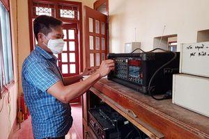 Nâng cao ý thức phòng dịch qua hệ thống truyền thanh
