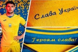 Tuyển Ukraine buộc phải sửa áo thi đấu Euro