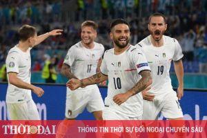 Kết quả, bảng xếp hạng EURO 2021 ngày 12/6: Italia thắng tưng bừng Thổ Nhĩ Kỳ