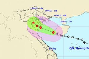 Bão số 2 cách Thái Bình, Thanh Hóa gần 300km