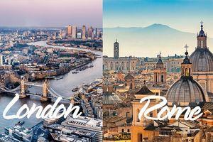 Bất ngờ trước những cái 'nhất' ở các thành phố thuộc 11 nước chủ nhà EURO 2020