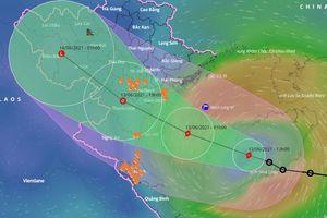 Bão số 2 giật cấp 10 cách Thái Bình 260km
