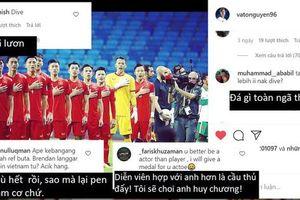 Cổ động viên Malaysia tấn công trang cá nhân Văn Toàn, khẳng định tiền đạo Việt Nam 'ngã lươn'
