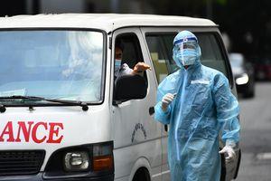 Phong tỏa nơi nhân viên Bệnh viện Bệnh Nhiệt đới TP.HCM sinh sống