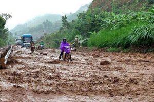 Bão số 2 gây mưa lớn ở nhiều nơi, đề phòng lũ quét, sạt lở đất ở vùng núi