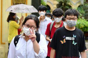 Thí sinh Hà Nội kết thúc bốn môn thi THPT