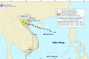 Bão số 2 suy yếu, cảnh báo mưa lớn diện rộng toàn Bắc bộ