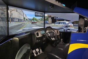 Đào tạo lái xe bằng phần mềm mô phỏng tình huống giao thông