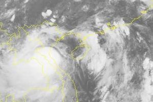 Bão suy yếu thành áp thấp nhiệt đới, hoàn lưu gây mưa kéo dài